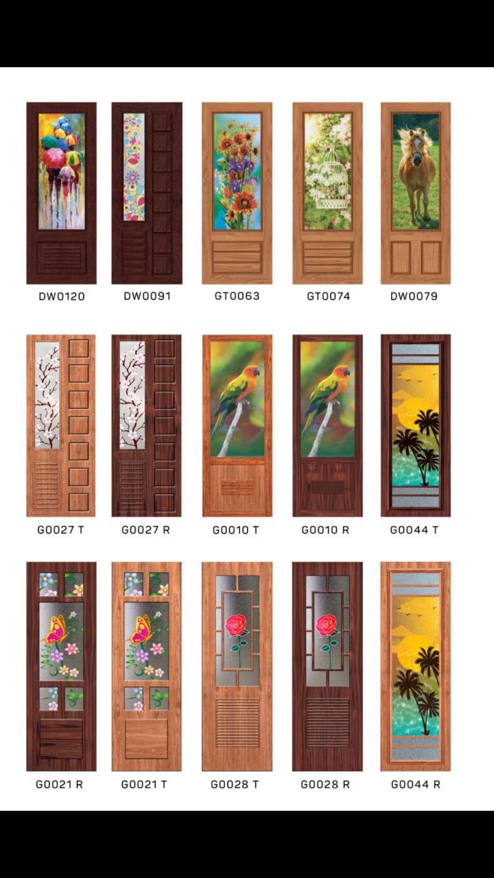 pvc digital doors